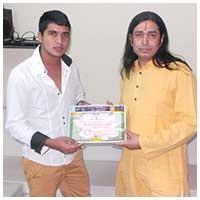 Acharya Anupam jolly students