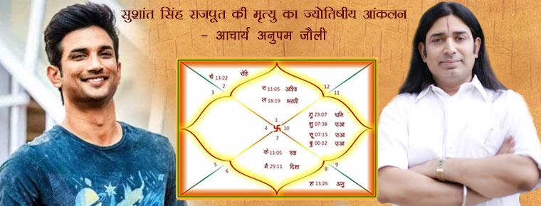 sushant singh rajput kundali